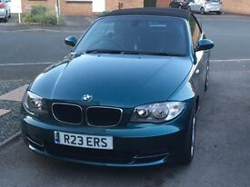 BMW 1-Series 3ltr convertible