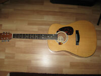 FOR SALE TWO GUITARS ONE ACOUSTIC & ONE ELECTRIC.