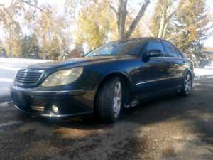 2002 Mercedes S320*trades welcome*read ad please*$10500