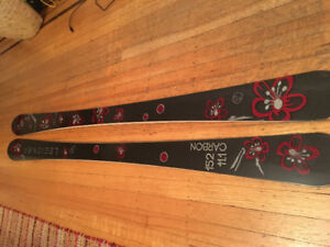 Carbon Fiber Skis, NEW, 152X11.1  Only 1 in Canada!