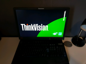 Lenovo ThinkVision 19 inch Wide LCD Monitor & Lenovo Keyboard