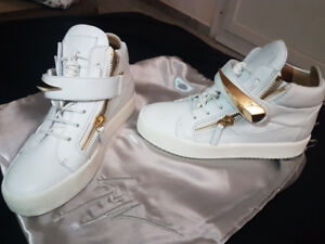 White New Authentic Giuseppe Zanotti Sneakers, size 37, 7