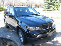 BMW X5 2004, Full equip, Panoramic Sunroof! SUV, Black