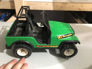 Vintage 1970's Tonka Pressed Steel Jeep CJ Renegade