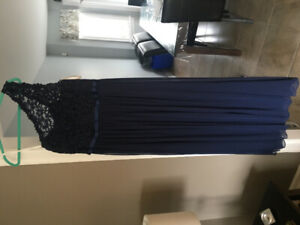 David's Bridal bridesmaid gown