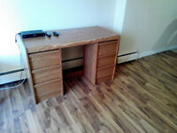 Wooden table (Area-Downtown)