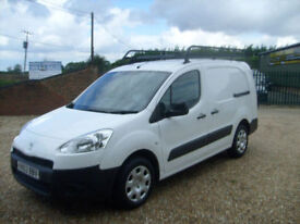 Peugeot Partner 1.6HDi ( 92 ) 750 S L2 NO VAT TO PAY ONLY 18000 MILES