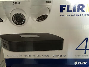 Hd Security camera Package 4xcamer's,1Nvr NEW in box