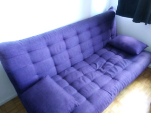 Futon and Chaise.