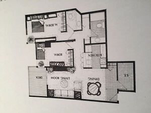 TWO BED ROOM CONDO, MILLWOODS