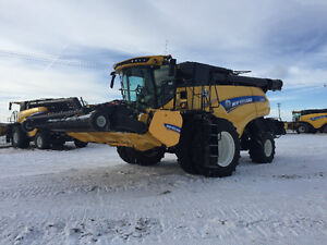 """New Holland CR10.9 combine """"hard to find"""""""