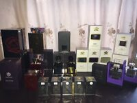 Creed or Tom ford fragrances decanted at scent Salim leeds uk