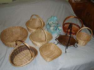 lot de9 paniers / Lot of 9 Baskets