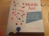 Mobile Art book by Clare Young brand new