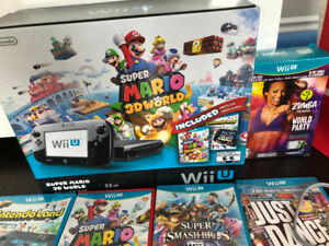 Wii U bundle - 11 games 2 controllers and a game pad- $900 value