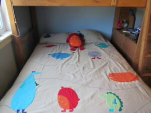 Monster bedding (Duvet cover/shams/sheet set/matching plush toy)