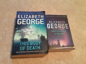 2 Elizabeth George Books For Sale