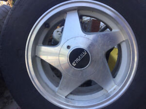 15 inch 4 bolt Fittipaldi Rims off Mustang $150.00