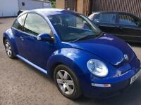 5707 Volkswagen Beetle 1.6 Luna Blue 3 Door 71110mls MOT 12m