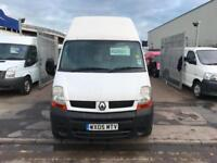 2005 05 RENAULT MASTER LWB EXTRA HIGH ROOF IDEAL CAMPER OR HORSEBOX CONVERSION !