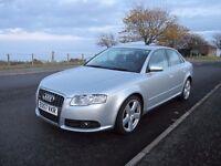 Excellent condition 2007 Audi A4 S- Line Auto GPS