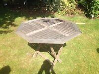 Outdoor garden table £20