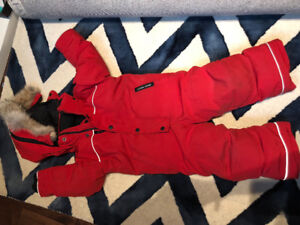 CANADA GOOSE GRIZZLY ONEPICE SNOWSUIT 2-3