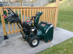 "Craftsman 8hp 24"" Snowblower - Ready to go!"