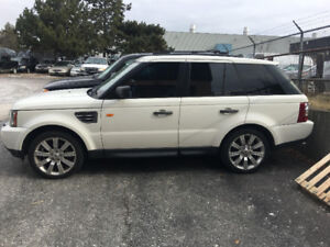 2008 Land Rover Range Rover Sport Leather SUV, Crossover