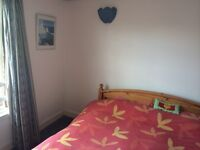Large, bright/airy, double room, en suite, in central edinburgh flat during the Edinburgh Festival