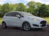 Ford Fiesta 1.5 TDCi Zetec 5dr (white) 2013