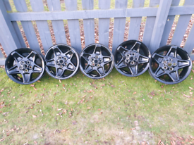 5x Mondial Alloy Wheels Landrover 18 in