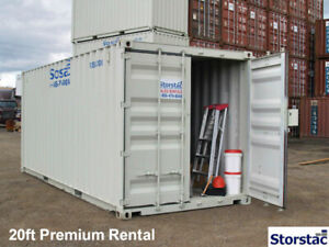 10', 20', 40' Steel Storage Rental Containers