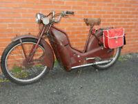 NEW HUDSON Autocycle 98cc 1957