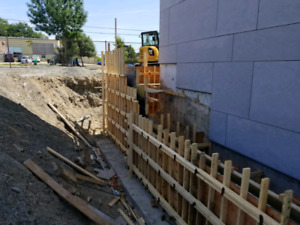 Concrete forming , restoration, and finishing