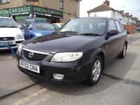 2002 MAZDA 323F 1.6 GSI 5DR, S/HISTORY, M.O.T 02/2019, P/X TO CLEAR