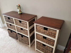 Table with Basket drawers