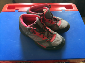 Child's hiking boots