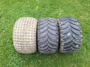 Honda big red tires. 12x25x9. Honda atc  tires