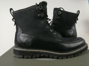 Timberland Men's Britton Hill Moc-Toe Waterproof Boot Size 8.5