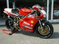 DUCATI 996 SPS FOGGY REPLICA, 1999, ONLY 12K, EXCELLENT CONDITION