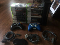 XBox 360 Elite 120 GB + Games/Accessories