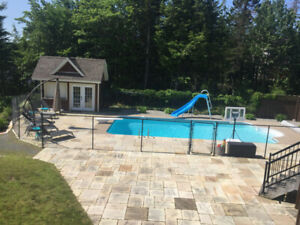Executive Lakefront home with inground pool!