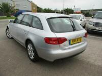 2011 (11) AUDI A4 2.0 TDi SE ESTATE AVANT Diesel Manual Silver Climate A/C FSH