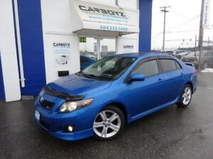 2009 Toyota Corolla XRS, Sunroof, Automatic, New Tires, No Accid