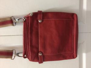 Soprano leather purse (red)