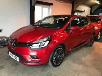 2018 RENAULT CLIO SIGNATURE 1.5 dCi 90BHP S/S NAV LEATHER ONLY 1,100 MILES 90MPG