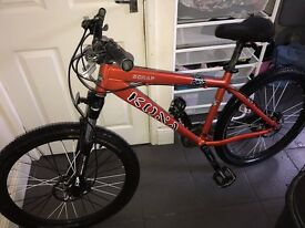 "Kona Scrap 26"" Wheels Hydraulic Disc Brakes Air Suspension Forks"