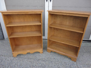 Two Of The Highest Quality Bookcases And In New Condition