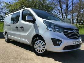 Vauxhall Vivaro 1.6 CDTI BiTurbo 120ps Crew Bus Double Cab